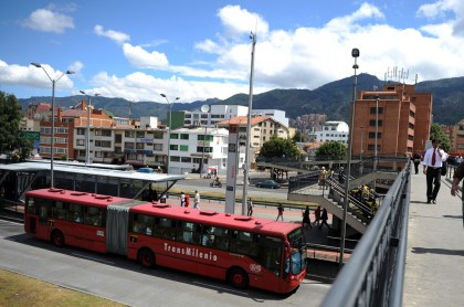 Bus de Transmilenio