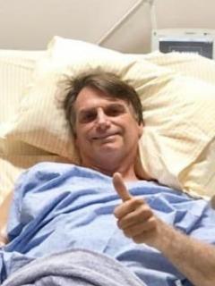 Jair Bolsonaro en clínica