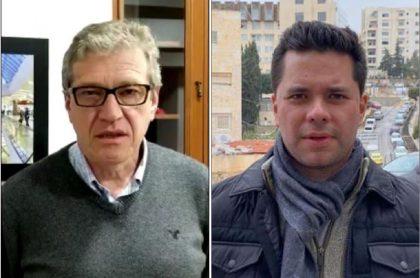Camilo Ángel y Luis Carlos Vélez
