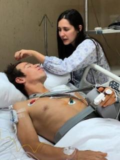 [Fotos] Las imponentes cicatrices que le quedaron a 'Rigo' tras la peor caída de su vida