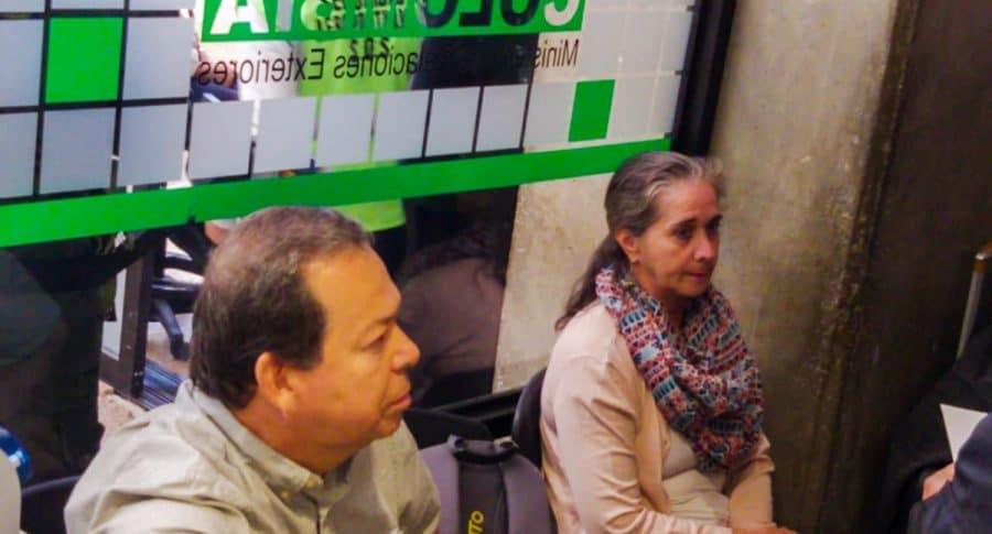 Rubén Darío Naranjo Henao y María Elena Escobar Quijano