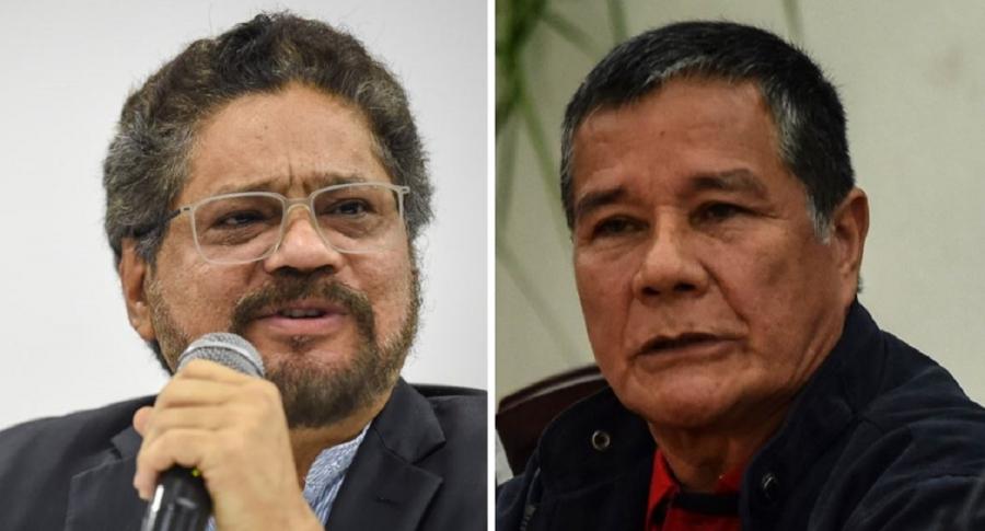 'Iván Márquez' y 'Gabino'