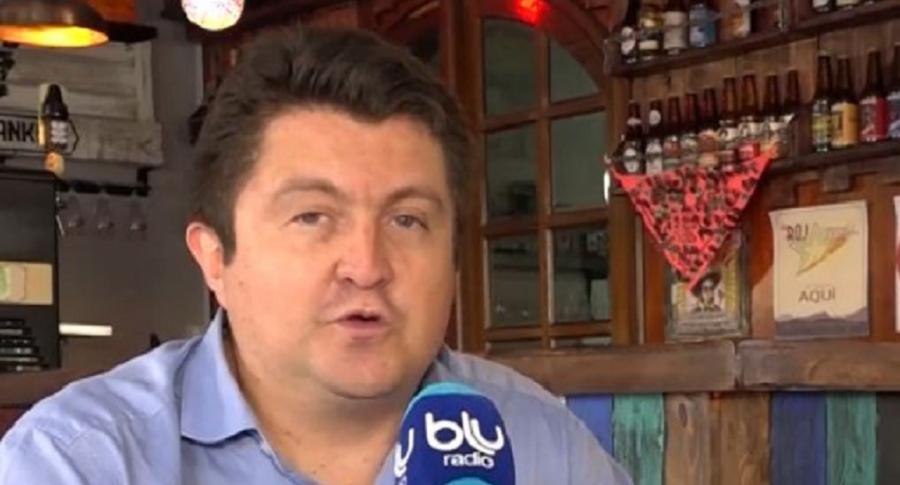 Ricardo Ospina, periodista de Blu Radio