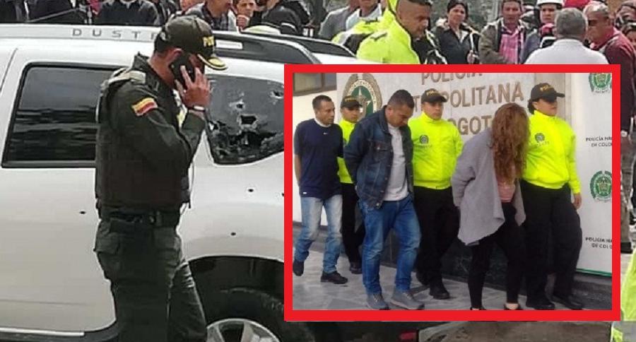 Tiroteo en Ciudad Bolívar y capturados