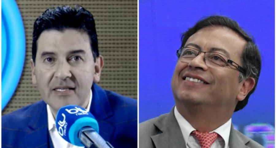 Néstor Morales y Gustavo Petro