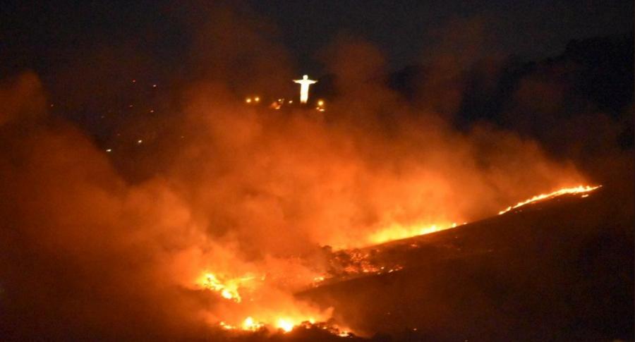 Incendio en Cali.