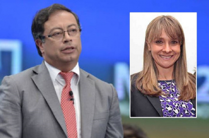 Gustavo Petro y Ángela María Calderón