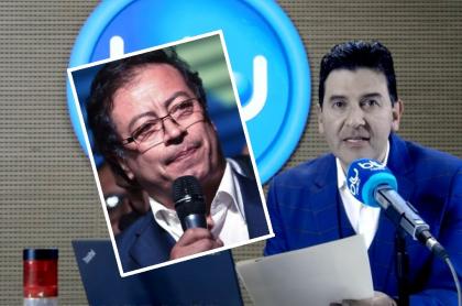 Gustavo Petro y Néstor Morales