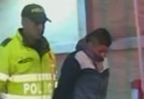 Ladrón de taxi en Bogotá