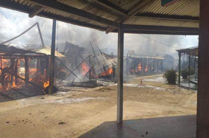 Incendio en Putumayo