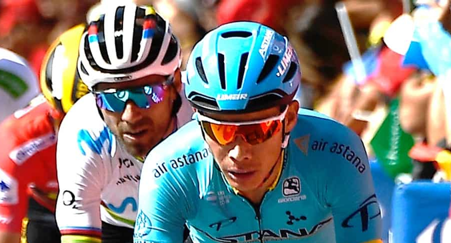 Alejandro Valverde y Miguel Ángel López