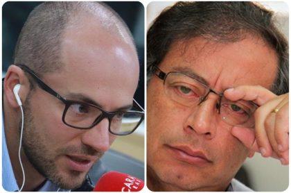 Gustavo Petro y Jorge Espinosa