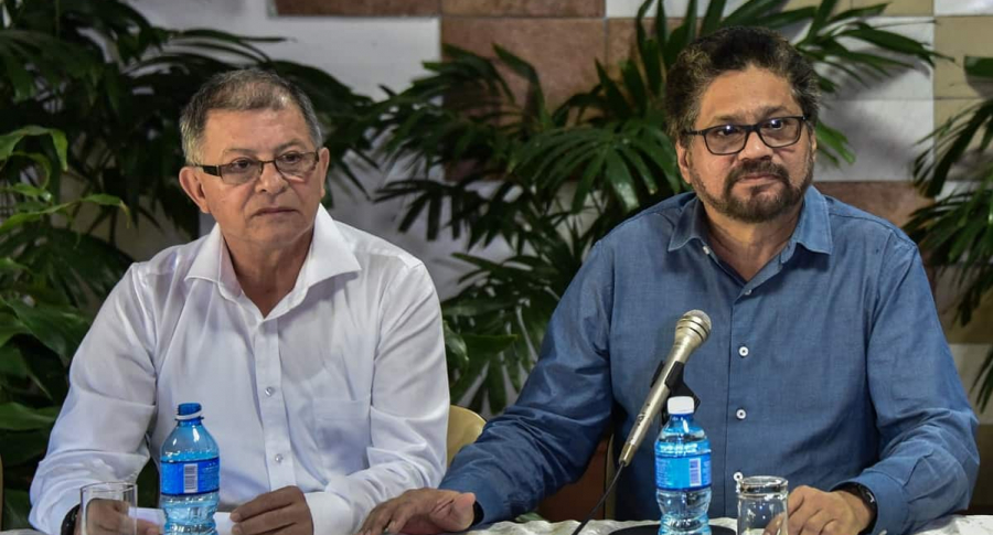 Rodrigo Granda e 'Iván Márquez'.