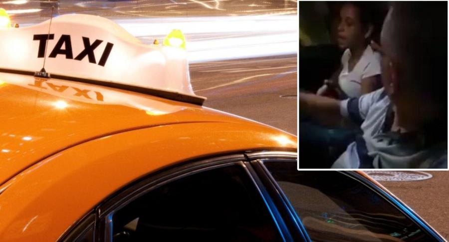 Taxista pelea con prostituta.