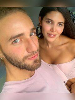 """Romántica postal de Mara y Nicolás por la que dicen que son """"la pareja del momento"""""""