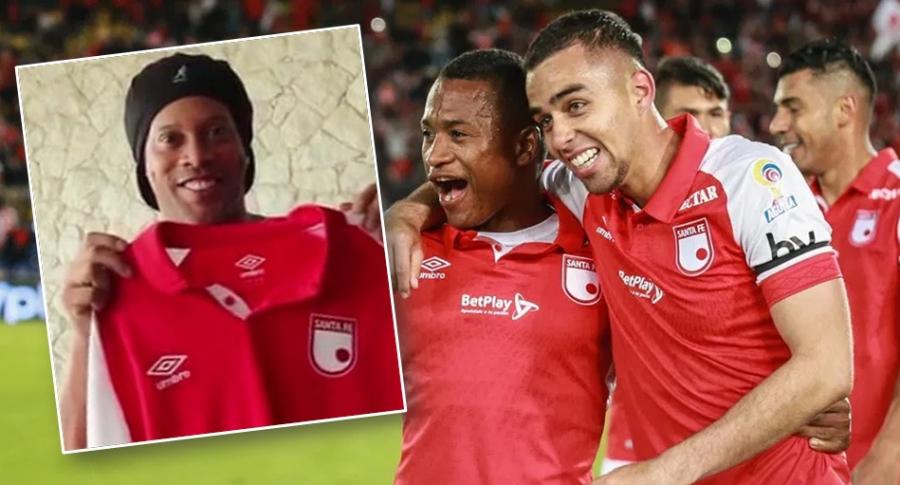 Ronaldinho y Santa Fe