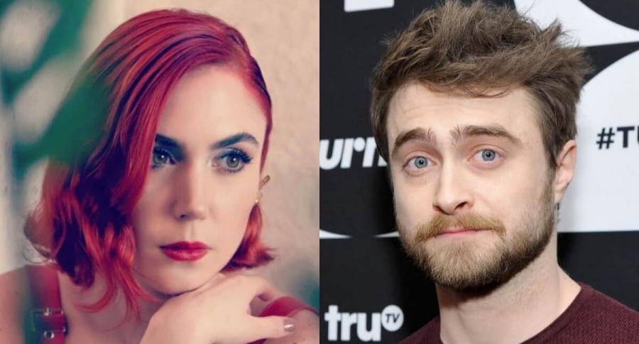 Carolina López y Daniel Radcliffe