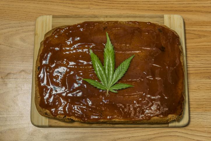 Torta Marihuana