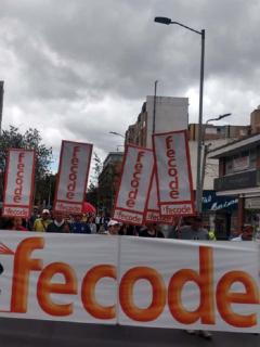 Esta es la ruta que debe evitar si no se quiere topar con la marcha de maestros en Bogotá