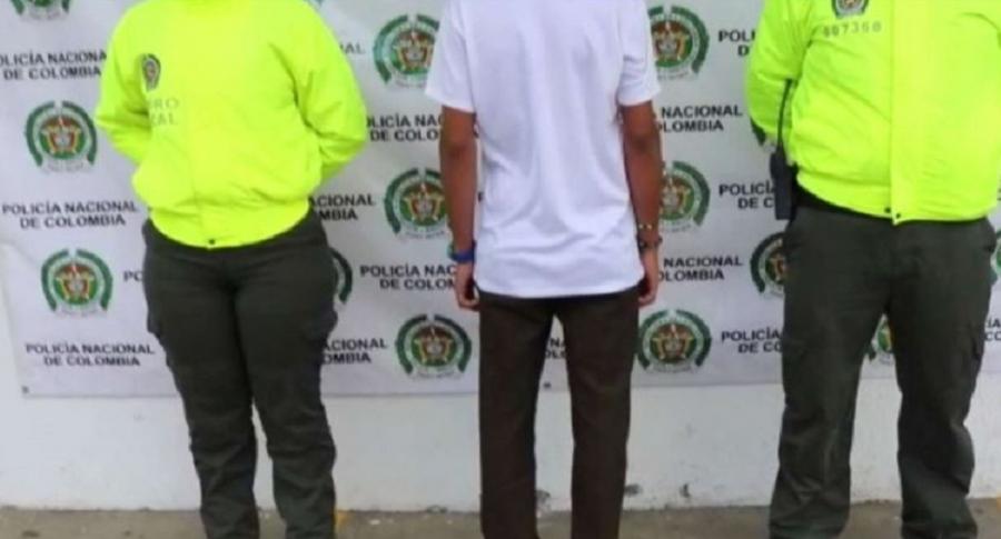 Menor detenido en Dagua