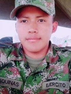 Soldado asesinado en Cauca