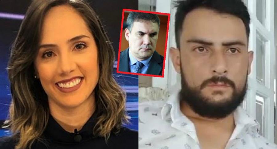 Camila Zuluaga, Miguel Nule y Gustavo Rugeles