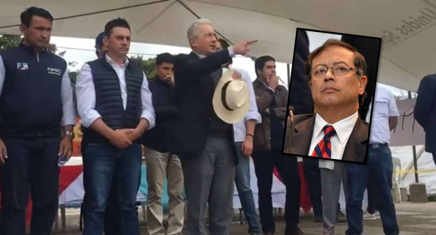 Uribe y Petro