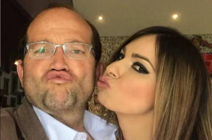 Daniel Samper, periodista, y Esperanza Gómez, actriz porno.