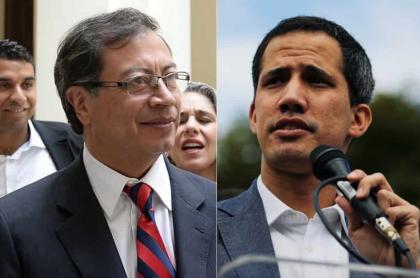 Petro y Guaidó