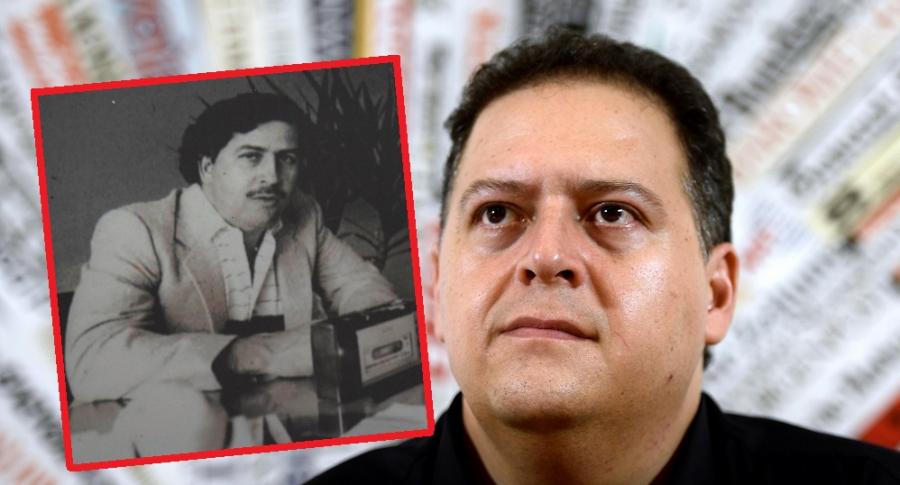 Pablo Escobar y su hijo Juan Pablo Escobar