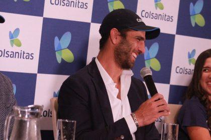 Juan Sebastián Cabal, Robert Farah y María Camila Osorio