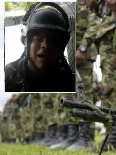 """Historia de muerte y dolor del soldado que en combate preguntó: """"¿Dónde está la paz?"""""""