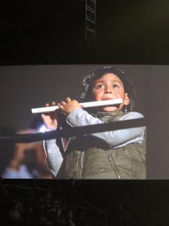 Un espontáneo niño flautista fue la gran figura del concierto de André Rieu
