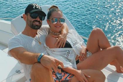 Norman Copuozzo y Lina Tejeiro