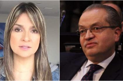 Vicky Dávila y Fernando Carrillo