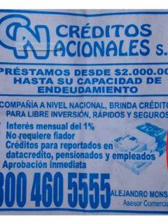 ¡Cuidado! Estas 3 entidades que otorgan créditos no están autorizadas en Colombia