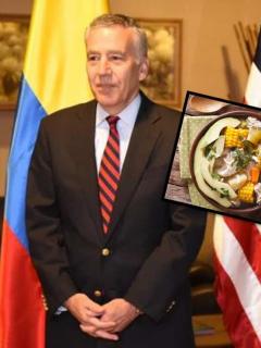 Llegó el nuevo embajador de EE. UU. en Colombia: viene antojado de guaro y ajiaco