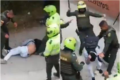 Agresión policial en Universidad de Cundinamarca