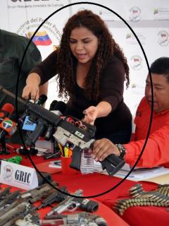 Ministra de prisiones de Venezuela sería el vínculo directo de Maduro con el Eln
