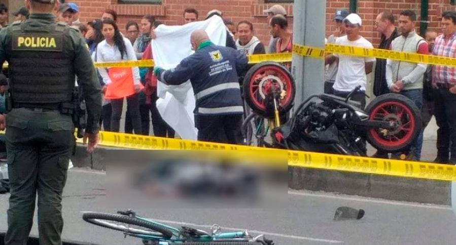 Accidente de tránsito en Av. Caracas