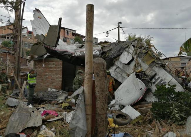Accidente de avioneta en Cauca