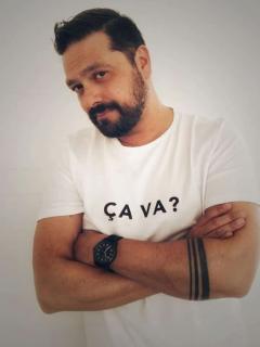 Santiago Rodríguez, actor colombiano.