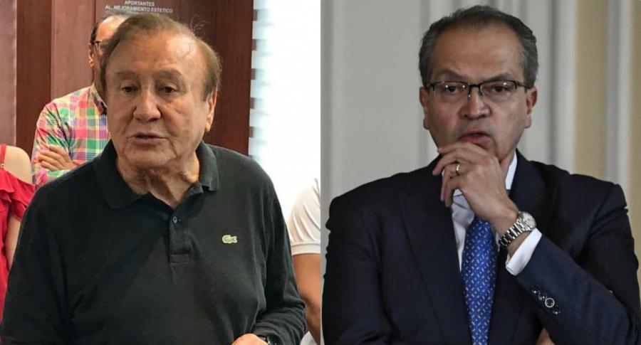 Rodolfo Hernández y Fernando Carrillo