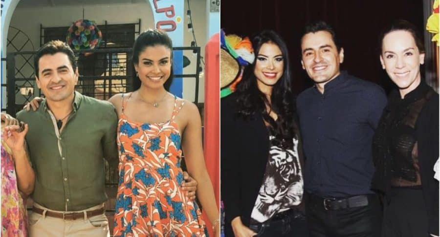 Rafael Zea, Johanna Cure y Patricia Tamayo, de 'Polvo carnavalero'