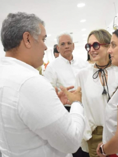 No es tienda, sino taller, lo que inauguró Silvia Tcherassi con Duque, y eso es diferente