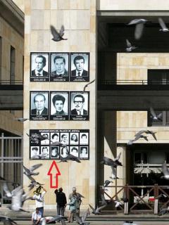 Víctimas Palacio de Justicia