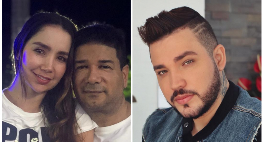 Paola Jara, Iván Calderón y Jessi Uribe
