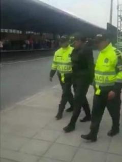 Falsa policía en Bogotá