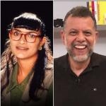 Betty, padre Linero y Armando
