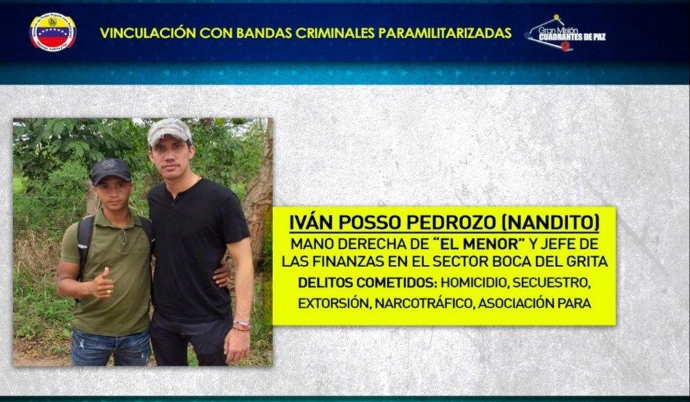Juan Guaidó y alias 'Nandito'